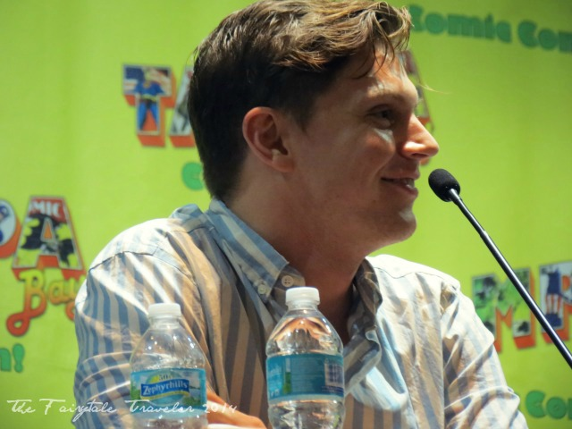 Evan Peters Tampa Bay Comic Con 2014