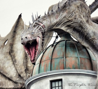 Diagon Alley Dragon feature