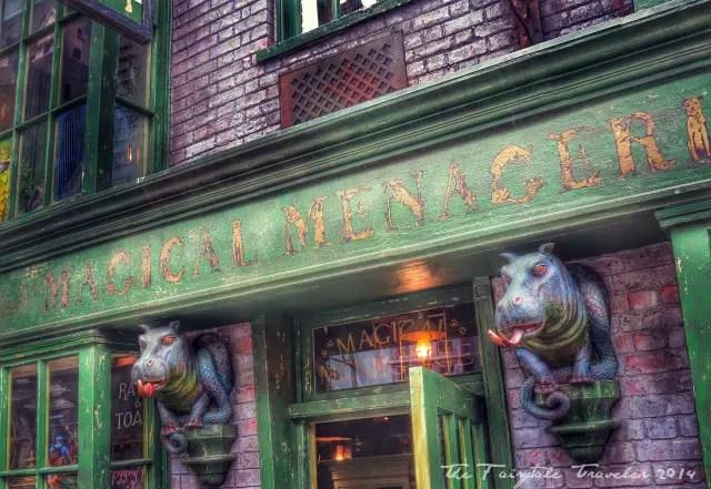 Universal Studios Diagon Alley shops