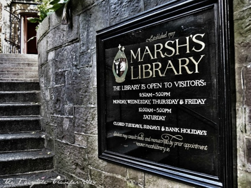 Marsh's Library Dublin 2