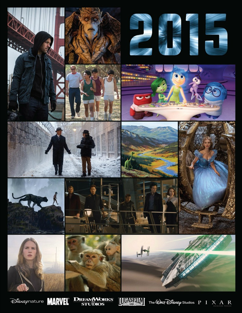 Upcoming Disney Movies 2015