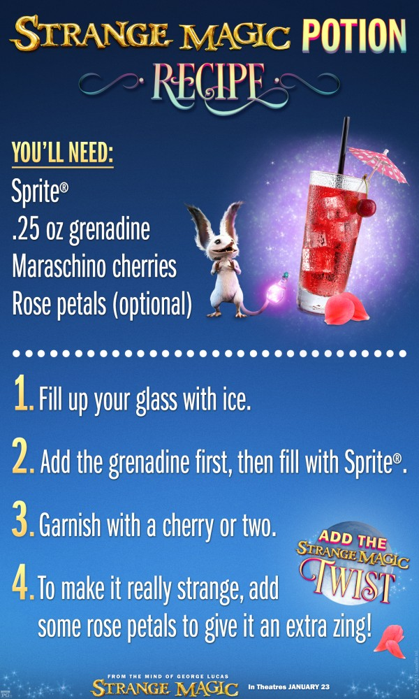 Strange Magic Potion Recipe