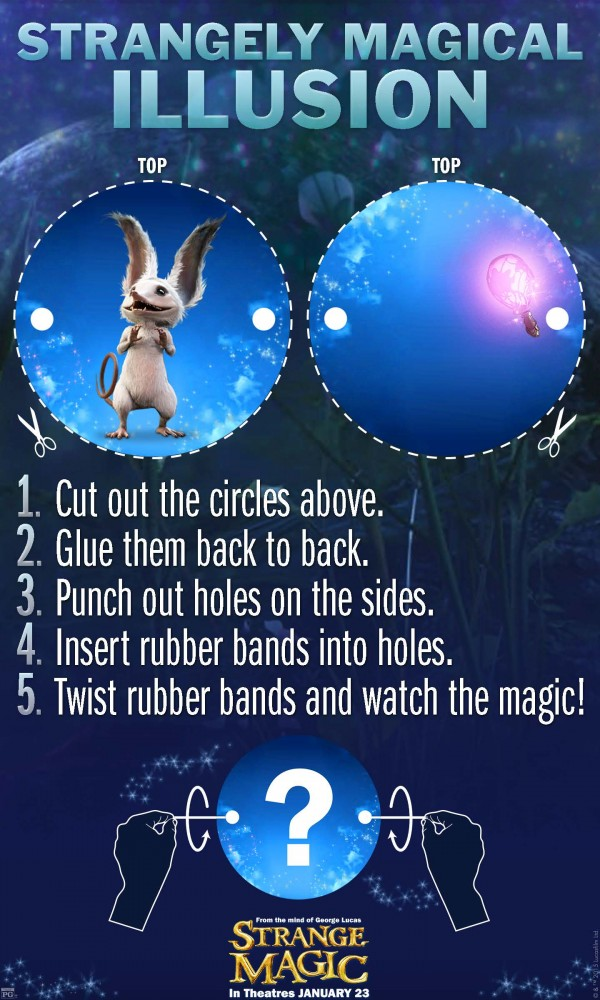 Strange Magic Illusions
