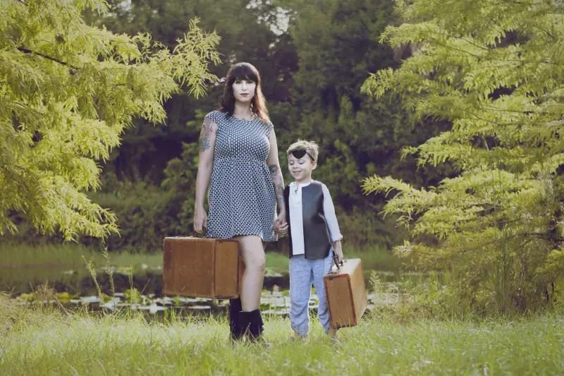 The Fairytale Traveler, Christa Thompson, Gauge Rybak, The little fairytale traveler
