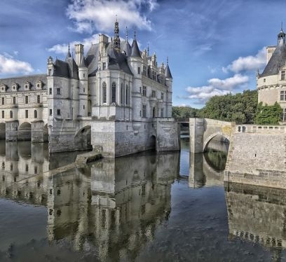 Chateau de Chenonceau Cinderella's Castle, slow travel