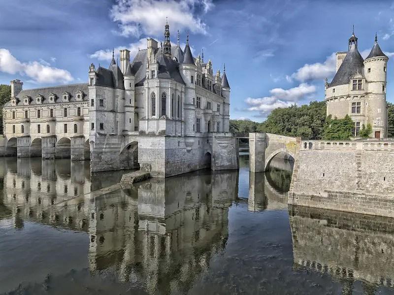 Chateau de Chenonceau Cinderella's Castle