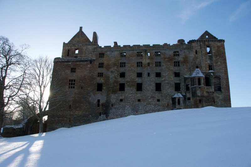Linlithgow Palace Scotland castles ghosts