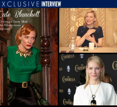 Exclusive Cate Blanchett Interview