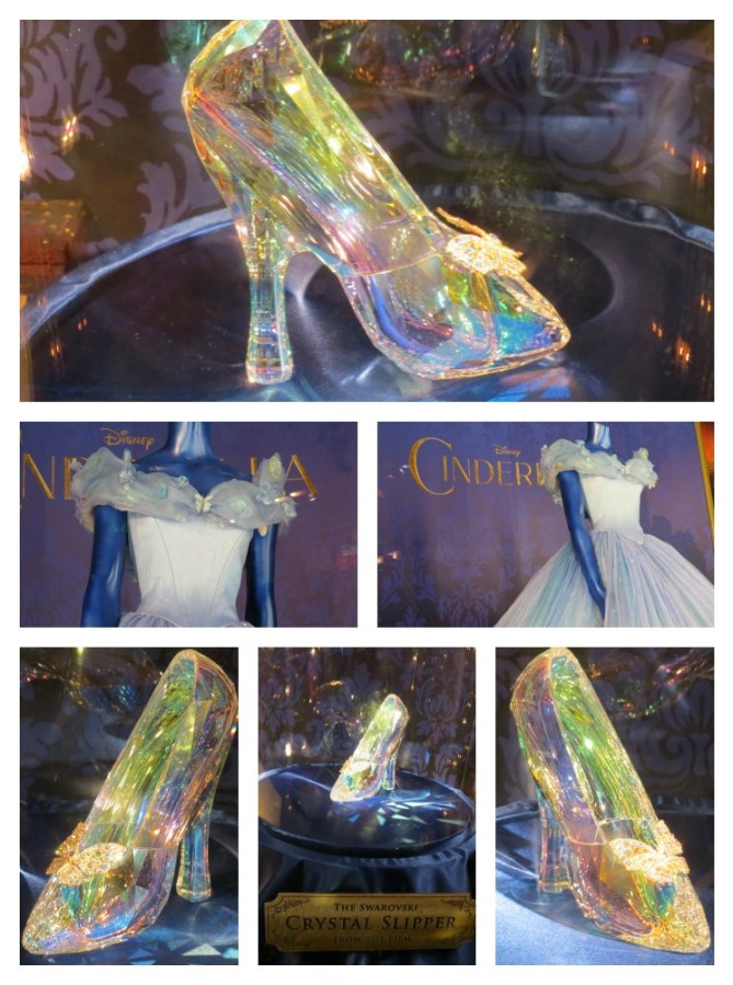 Cinderella the Dress and glass Slipper