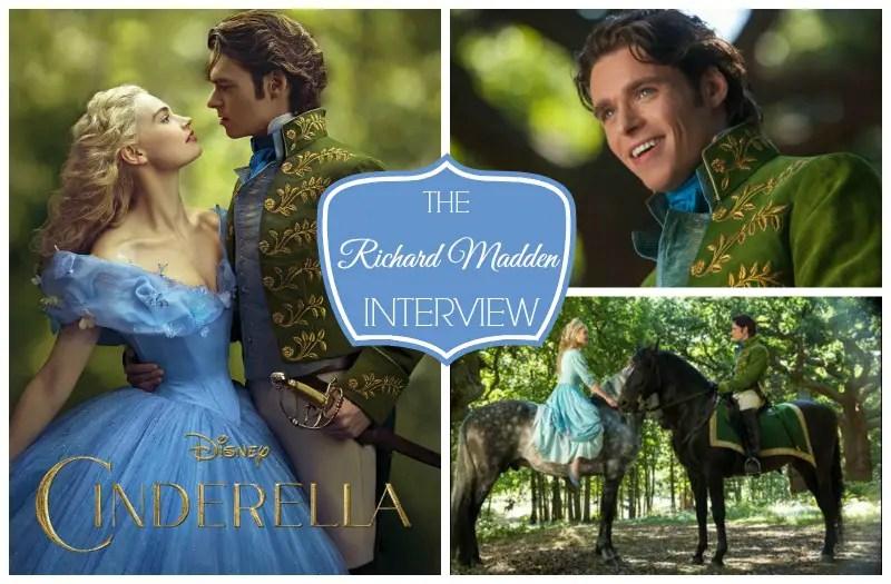 EXCLUSIVE RIchard Madden Cinderella Interview