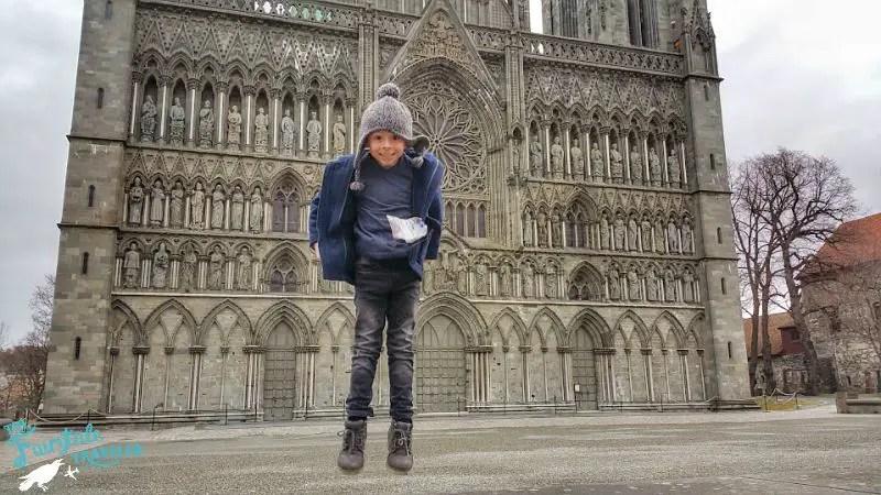 Nidaros Cathedral Trondheim, make family vacation fun