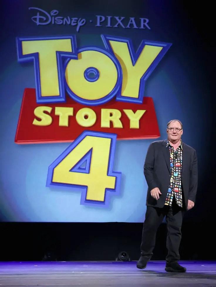 JOhn Lasseter Toy Story 4