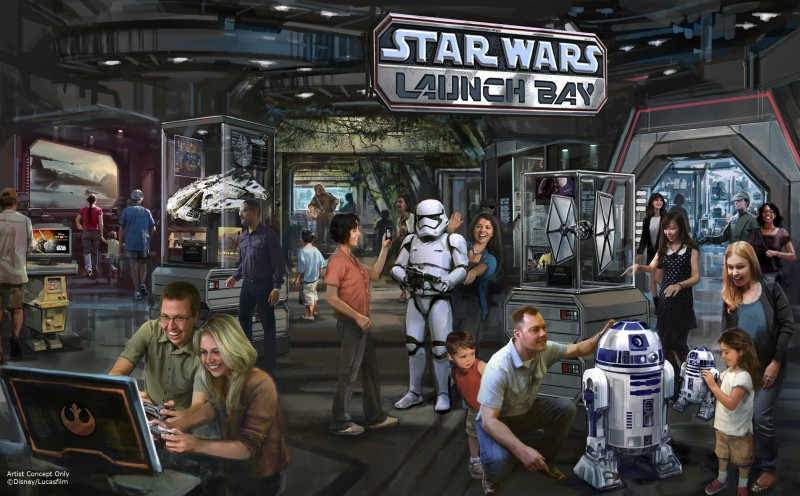 Star Wars Launch Bay Star Wars Land