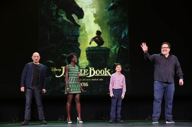 The Jungle book D23 Expo