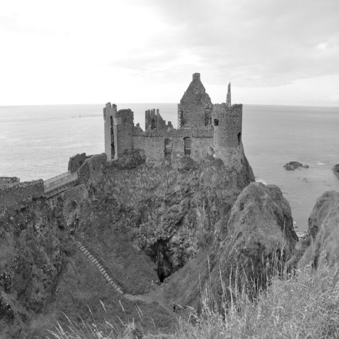 Dunluce Castle haunted castles in ireland