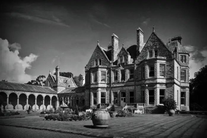 Leslie Castle haunted castles in Ireland