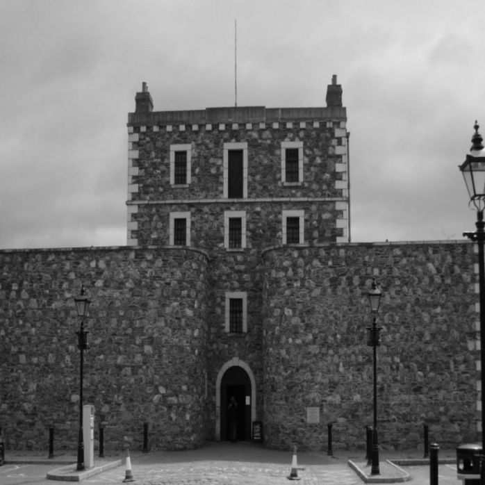 Wicklow Gaol haunted castles in Ireland