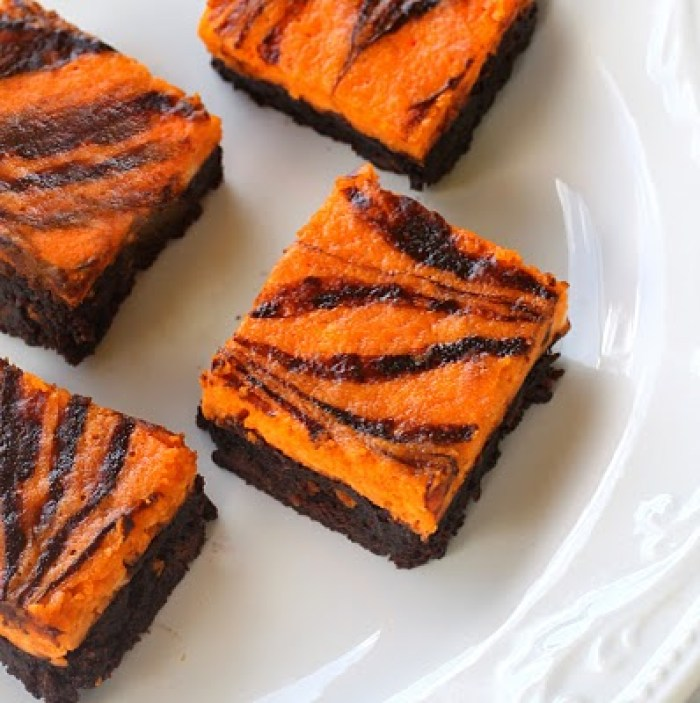Halloween Recipes Scream Cheese Brownies