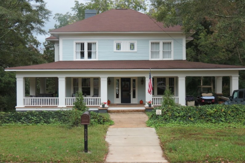 The Walking Dead filming locations Pudding House