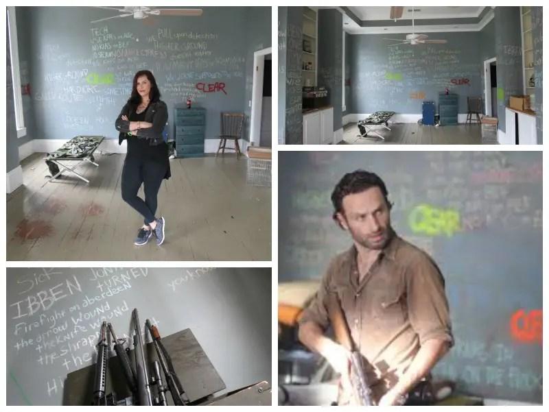 Walking Dead filming locations Morgan's apartment