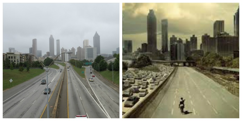 Walking Dead filming locations