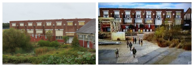 Walking Dead filming locations Terminus