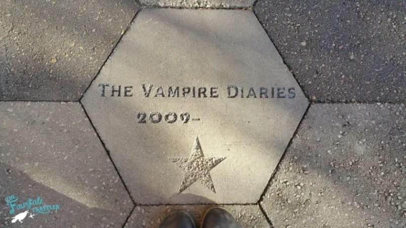 The Vampire Diaries Star in Mystic Falls Covington