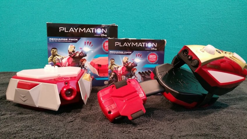 Playmation Recharger packs