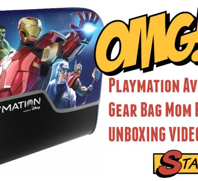 Playmation Avengers Lab Gear bag review t
