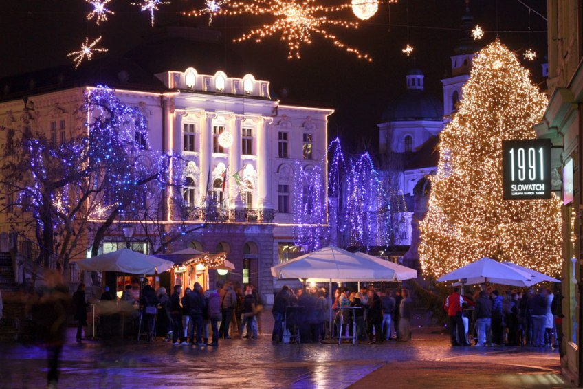Ljubljana at Christmas