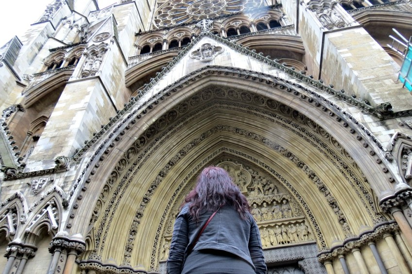 The Fairytale Traveler, Christa Thompson, Westminster Abbey, London