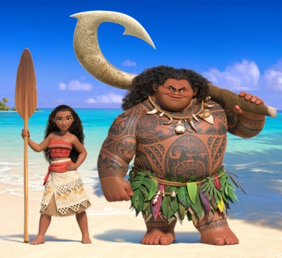 Moana 2016, movies to see in 2016