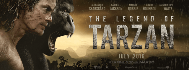 The Legend of Tarzan Banner