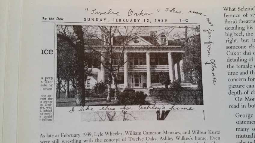 The Twelve Oaks Bed and Breakfast, Covington, The Vampire Diaries Film Locations, Gone with the Wind