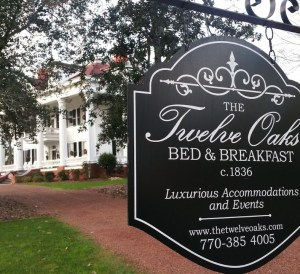 The Twelve Oaks Bed and Breakfast, Covington, The Vampire Diaries Film Locations