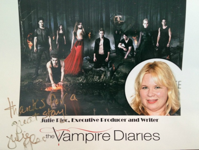 Julie Plec, Twelve Oaks Bed and Breakfast, Covington, The Vampire Diaries