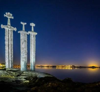 Three Swords, Norway, Vikings, Stavanger, Vikings in Norway, Vikings TV show