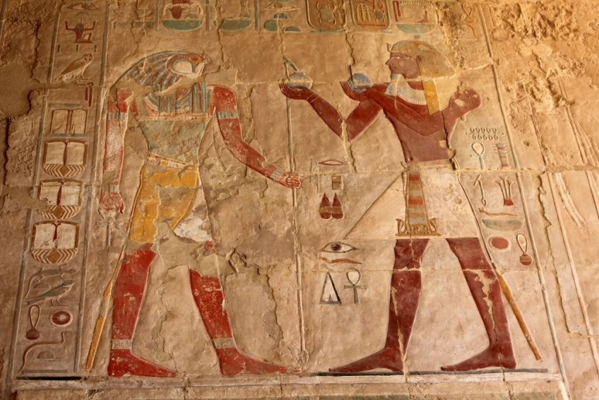 gods of egypt Valley of the Kings tomb decoration
