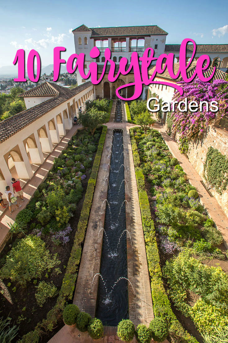 Beautiful Gardens, La-Alhambra-Gardens-by-Salvador-Fornell-Creative-Commons-License