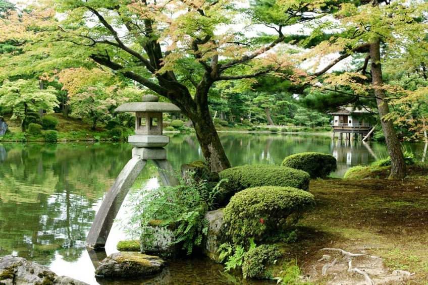 Beautiful Gardens, Kenroku en