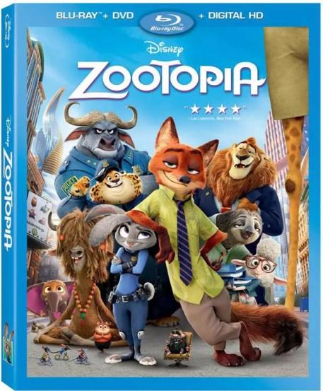 Zootopia Blu-ray, zootopia blu-ray bonus material