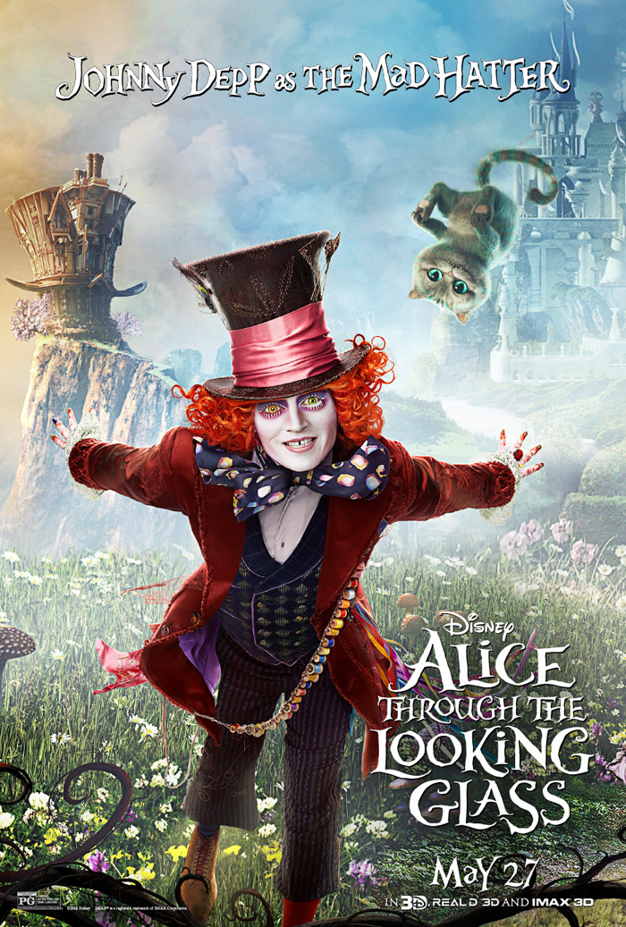 Follow Me To The Alice Through The Looking Glass Premiere In La