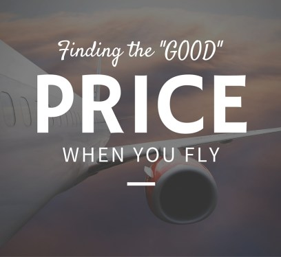 Flying for cheap