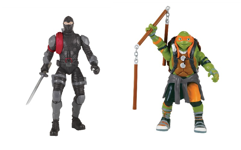 TMNT Out of Shadows Toys