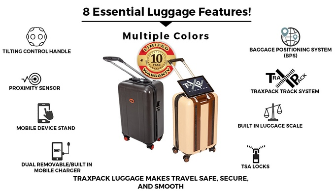 TraxPack luggage