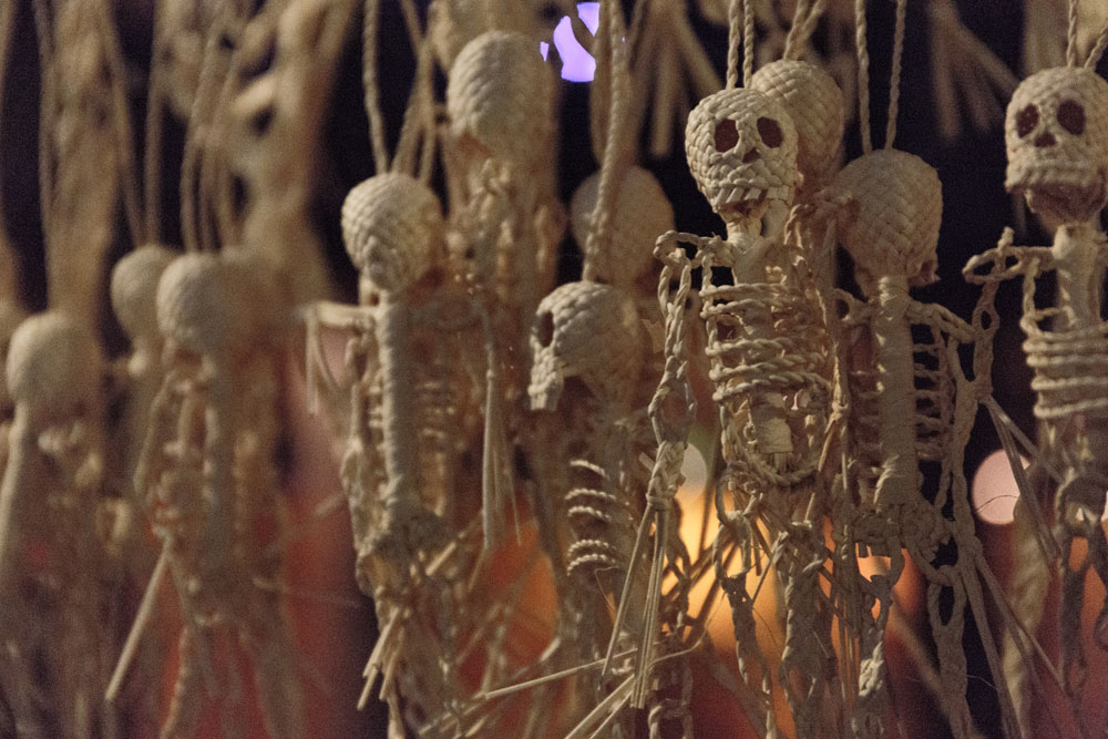 Day of the Dead vacation, Xcaret, Mexico, dia de los muertos, souvenirs, skeletons,