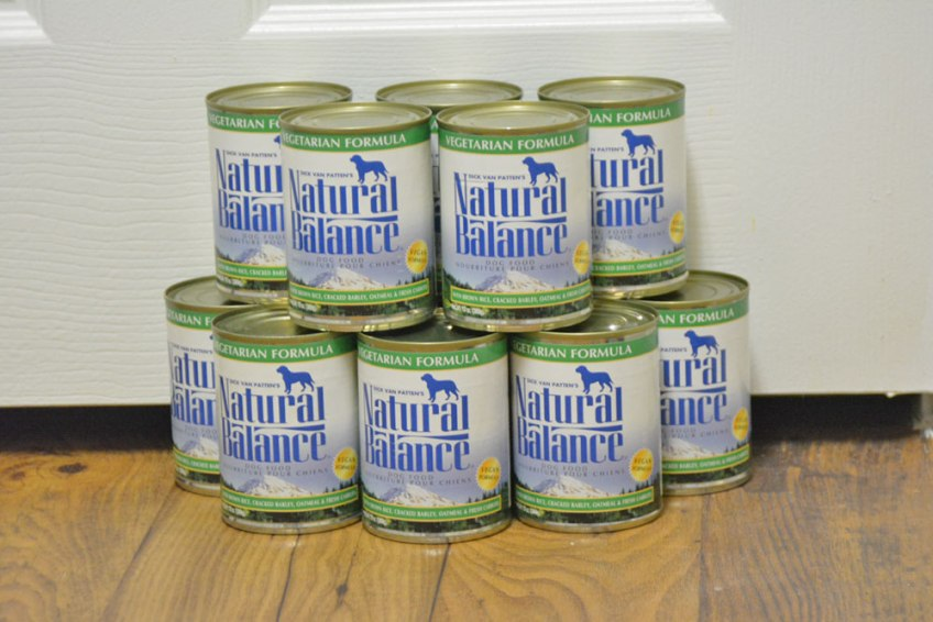 harmful contaminants in pet food, natural balance