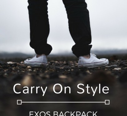 Exos Backpack Review, travel gear, backpack, carry on