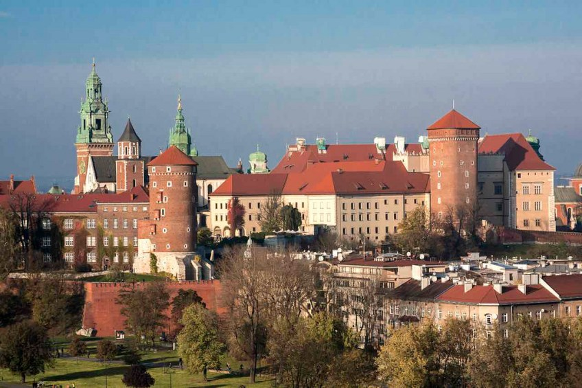 Wawel Castle, romantic, krakow