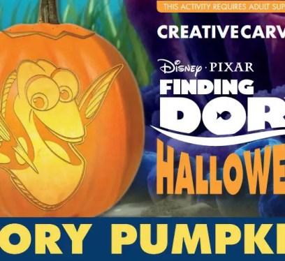 finding dory pumpkin